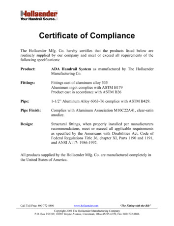 certificate of compliance template pdf